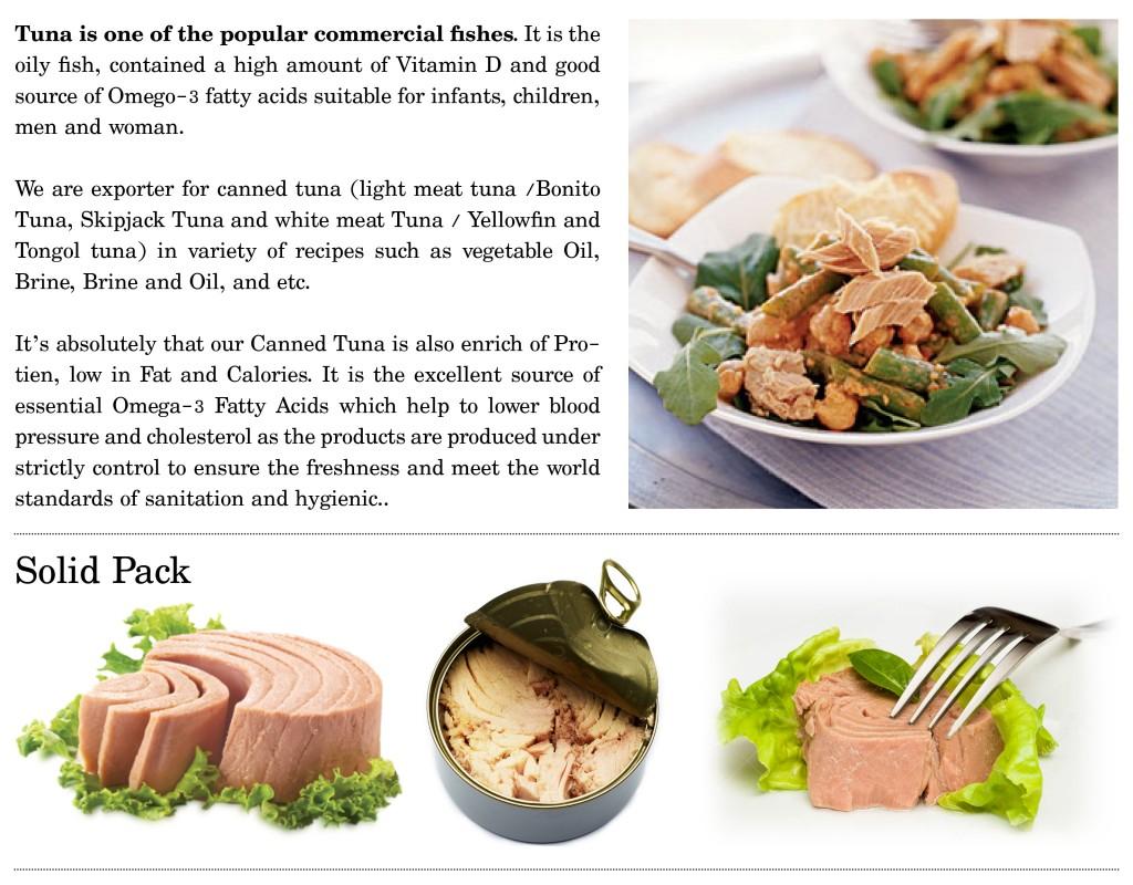 Solid Tuna